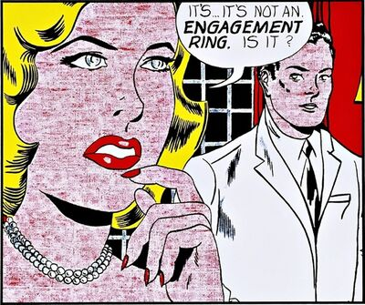 Roy Lichtenstein, 'The Engagement Ring 1961 for Art Basel', 1987