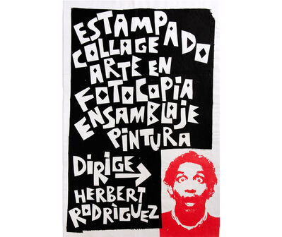 Herbert Rodríguez, 'Diseño para difusión de taller', 2003