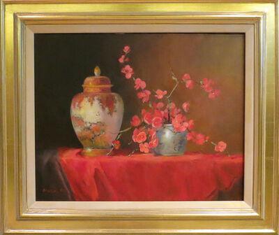 Jacqueline Fowler, 'Lidded Satsuma Vase'