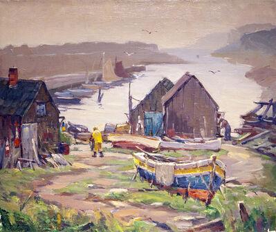 Antonio Cirino, 'Boatyard', 1889-1983