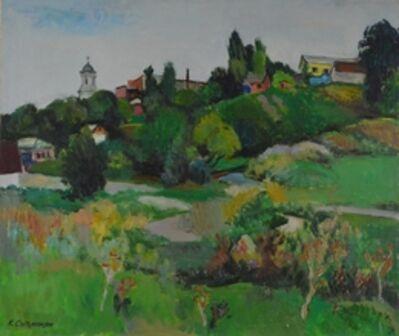 Kerop Dzarukovich Sogomonyan, 'Chatir landscape', 2002