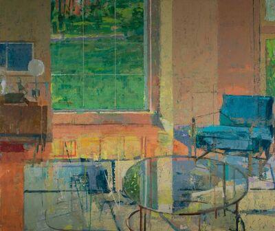 Chris Liberti, 'Interior with Blue Chair', 2017