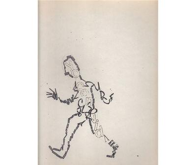 Fernando Coco Bedoya, 'Siluetas', ca. 1980