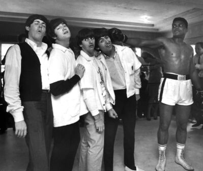 Harry Benson, 'Muhammad Ali and the Beatles, Miami', 1964