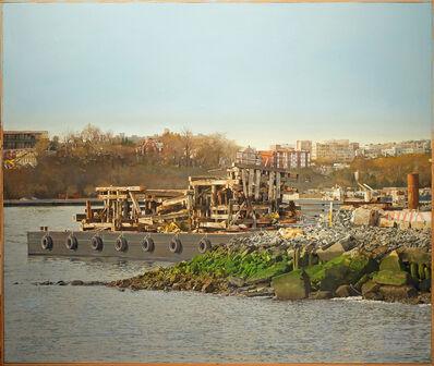 Joseph McNamara, 'Hudson River Barge', 2019-2021