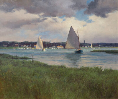 Donald W. Demers, 'Clearing Skies over Chatham, Massachusetts', 2010