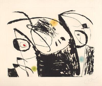 Joan Miró, 'Série Mallorca (Mallorca Series): plate 9 (D. 619, see C. 177)', 1973
