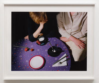 Jo Ann Callis, 'Purple Tablecloth', 1979