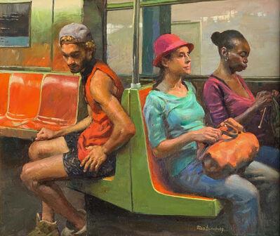 Max Ginsburg, 'Subway Trio', 2019