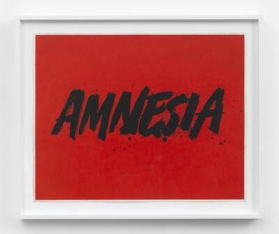 Andrew Brischler, 'Amnesia', 2016