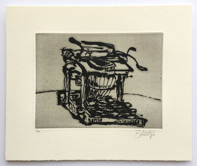 William Kentridge, 'Typewriter I', 2003