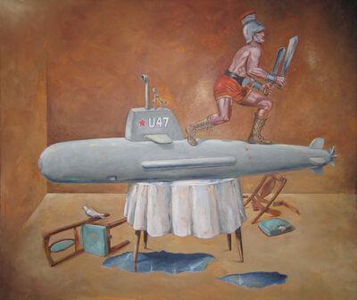 Tony Geiger, 'In-Flight Adjustment', 2014