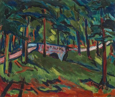 Erich Heckel, 'Parklandschaft (Park Landscape)', 1910