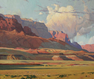 "G. Russell Case, '""Vermilion Flats""'"