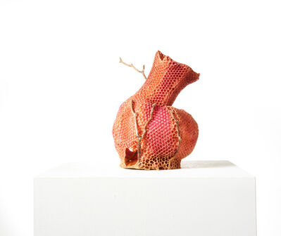 Tomáš Libertíny, 'The Honeycomb Vase - Red', 2019
