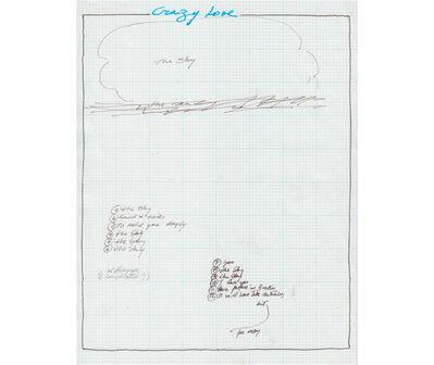 Rafael Hastings, 'Crazy love. De la serie Dibujos Mentales', 1967-1978