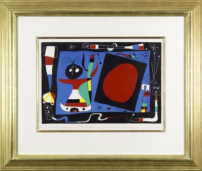 Joan Miró, 'Femme au Miroir', 1956