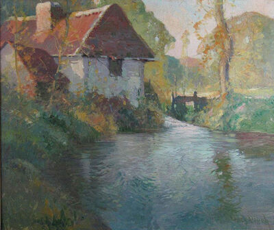 George Ames Aldrich, 'Autumn Afternoon, Normandy', ca. 1910