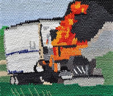 Caroline Larsen, 'Tractor Trailer Fire', 2012