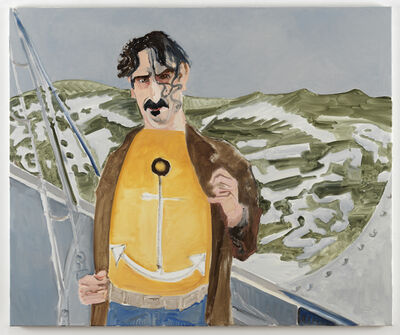 Emo Verkerk, 'Frank Zappa (Anchor)', 2020
