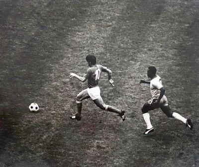Gerry Cranham, 'World Cup Final, Italy v Brazil, Estadio Azteca, Mexico, Mexico City, 1970'