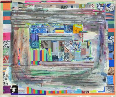 Franklin Evans, 'blueblackhandsaspurplegreen', 2014