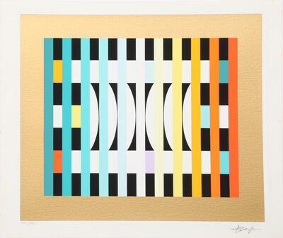 Yaacov Agam, 'Counter Rhythm 6', 1980