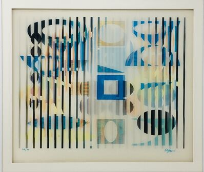 Yaacov Agam, 'Petit Secret #1 In Light', ca. 1980's