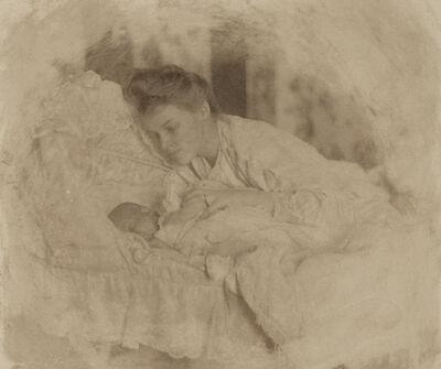 Gertrude Käsebier, 'Mother and Child', 1903