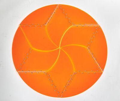 Marta Chilindron, 'Orange Circle 12', 2014