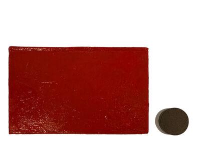 Horacio Zabala, 'Libro rojo I. Serie de los libros', 2010
