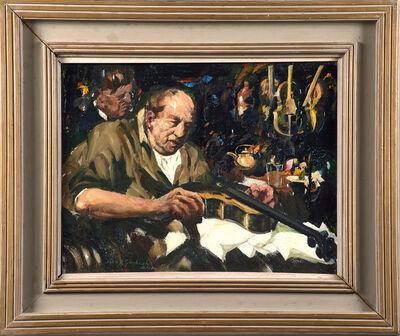 John R. Grabach, 'Untitled (Violin Maker)'