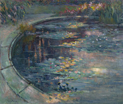 Robert Antoine Pinchon, 'Le bassin aux nymphéas'