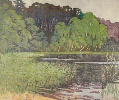 Helene Mass, 'Forest Lake', ca. 1920s