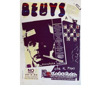 Fernando Coco Bedoya, 'Arte al Paso. A Beuys, Buenos Aires', 1990