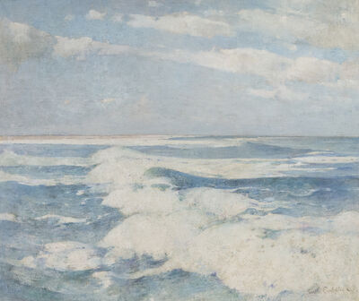 Soren Emil Carlsen, 'Side Running Sea', ca. 1909