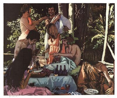 John Clem Clarke, 'Bacchanal', 1972