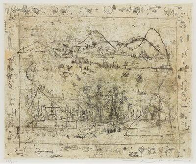 Zao Wou-Ki 趙無極, 'Paysage avec Encadrement', 1951