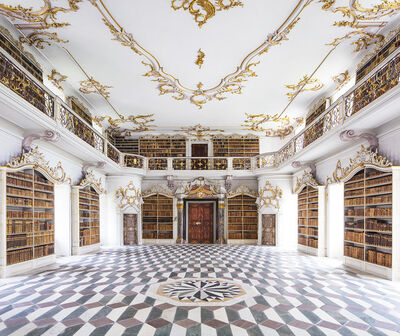Reinhard Gorner, 'Neustift Abbey Library', 2016