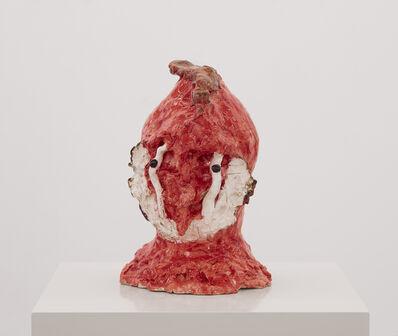 Janes Haid-Schmallenberg, 'Büste (hellrot, aufgeregt)', 2019