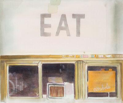 Tom Fabritius, 'Eat', 2012