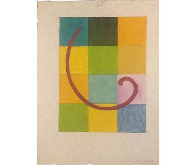 David Lamelas, 'Vortex sobre 12 secciones', 1989