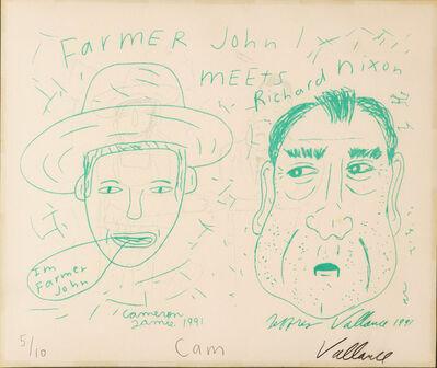 Cameron Jamie, 'Farmer John Meets Nixon', 1991