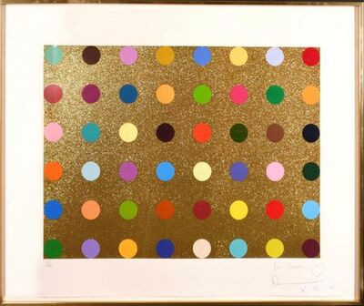 Damien Hirst, 'Untitled (Gold Gift Spot)', 2008