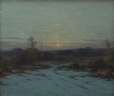 James Knox, 'Sunset Snow', 1930