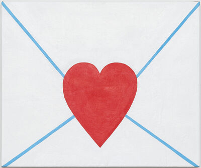 "Tessa Perutz, '""Love Letter (Emoji)""', 2018"