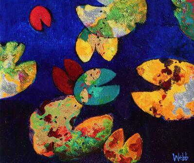 Kenneth Webb, 'Waterlily Gold I'