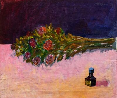 Mario Mafai, 'Roses and ink pot', 1956