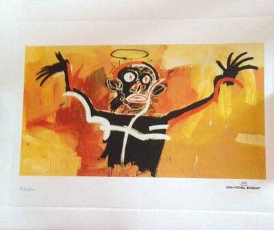 Jean-Michel Basquiat, 'Untitled (Angel) - Basquiat Reproduction', 1982