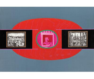 Elda Cerrato, 'Serie de la Realidad: Para una imagen del Hombre II. Relevamientos de las contradicciones', 1974